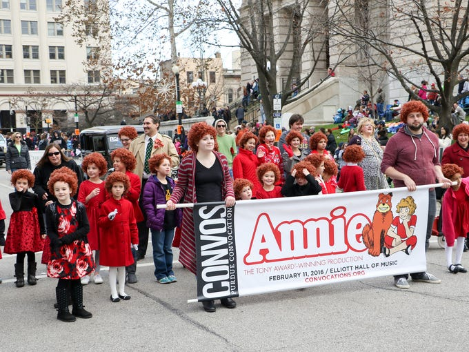 Highlights from the Christmas day parade in downtown