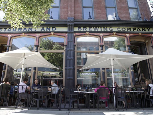 Court Avenue Brewing Co. has The Series, a monthly rotation of seasonal brews.