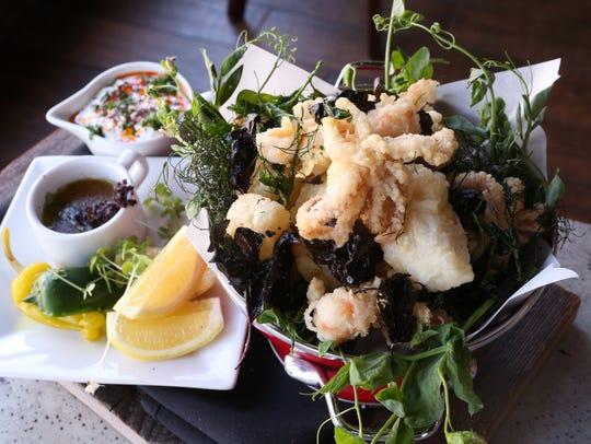 Fritto Misto,  with scallop, rock shrimp, snapper,