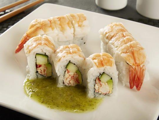 Ra Shushi Lobster Shrimp Roll from Ra Sushi Bar Restaurant.