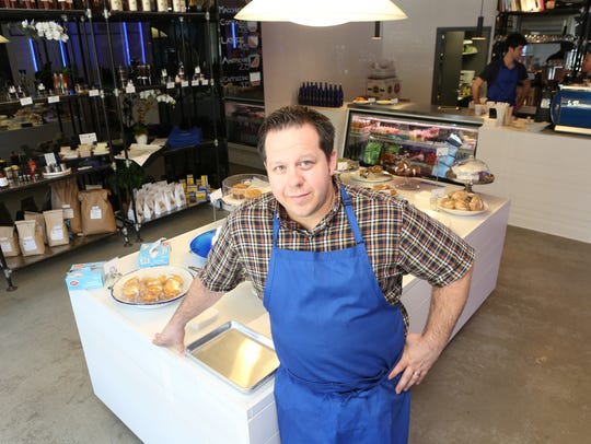 Chef Eric Gabrynowicz at Market North in Armonk. He
