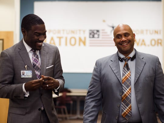 Marvin DeJear, Director of the Evelyn K. Davis Center,