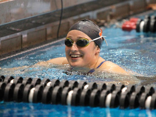 Princeton senior Sada Stewart is closing in on Tigers records in several events. The York Suburban graduate is second in the Princeton career record book in the 100 backstroke, 200 backstroke and 200 IM.