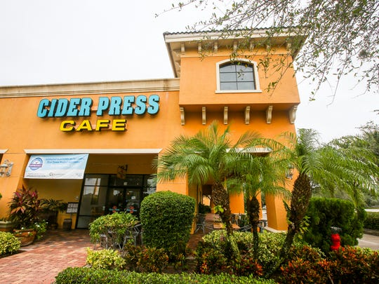 The Cider Press Cafe closed at 1201 Piper Blvd., Naples.