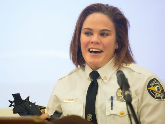 Deputy Brittany Inkrote of the York County Sheriff