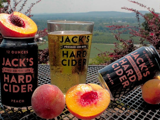 Jack's Hard Cider, in Biglerville, cans all five varieties of its cider.