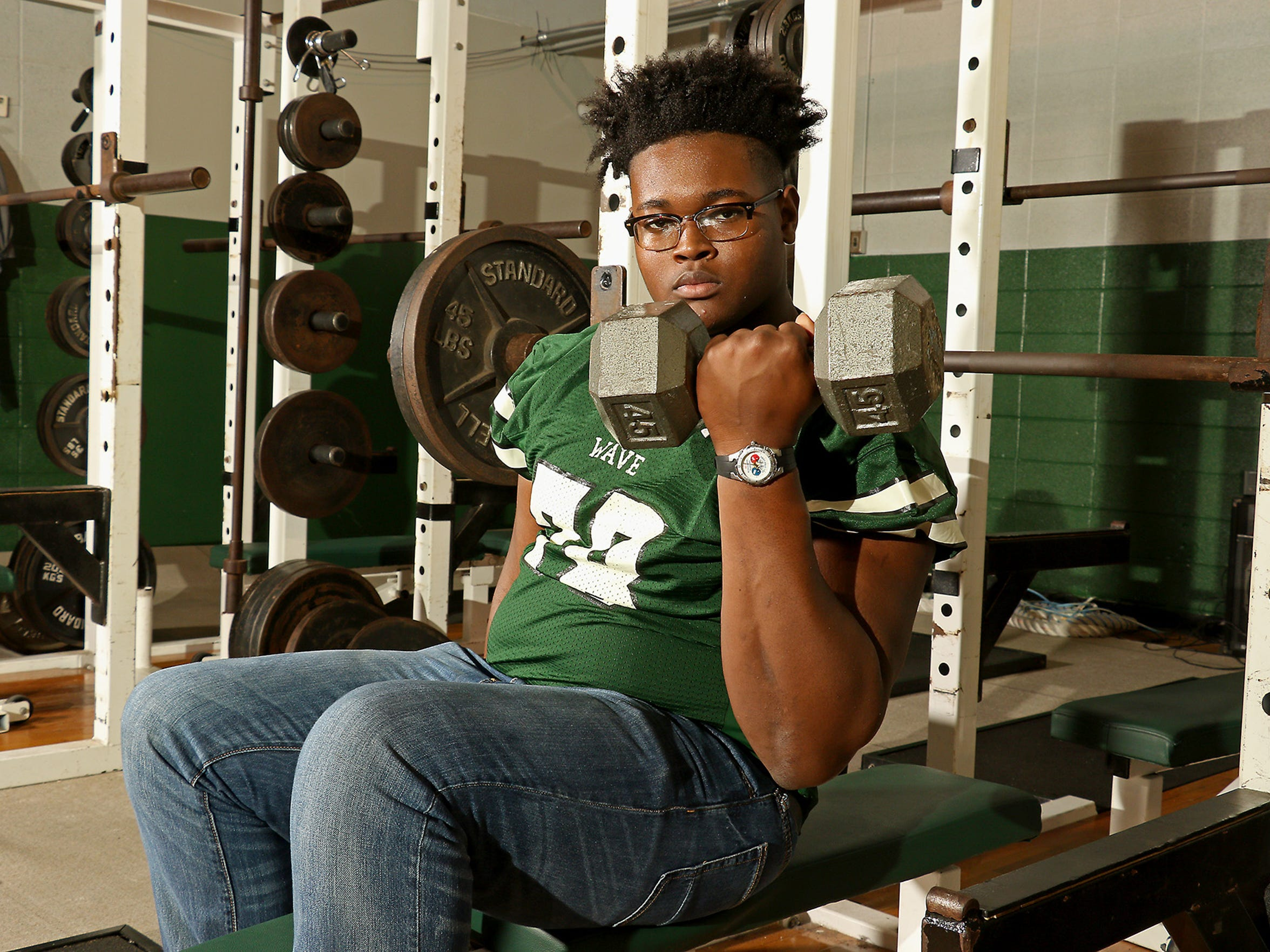 Scott Lashley boasts over 25 Division I offers and