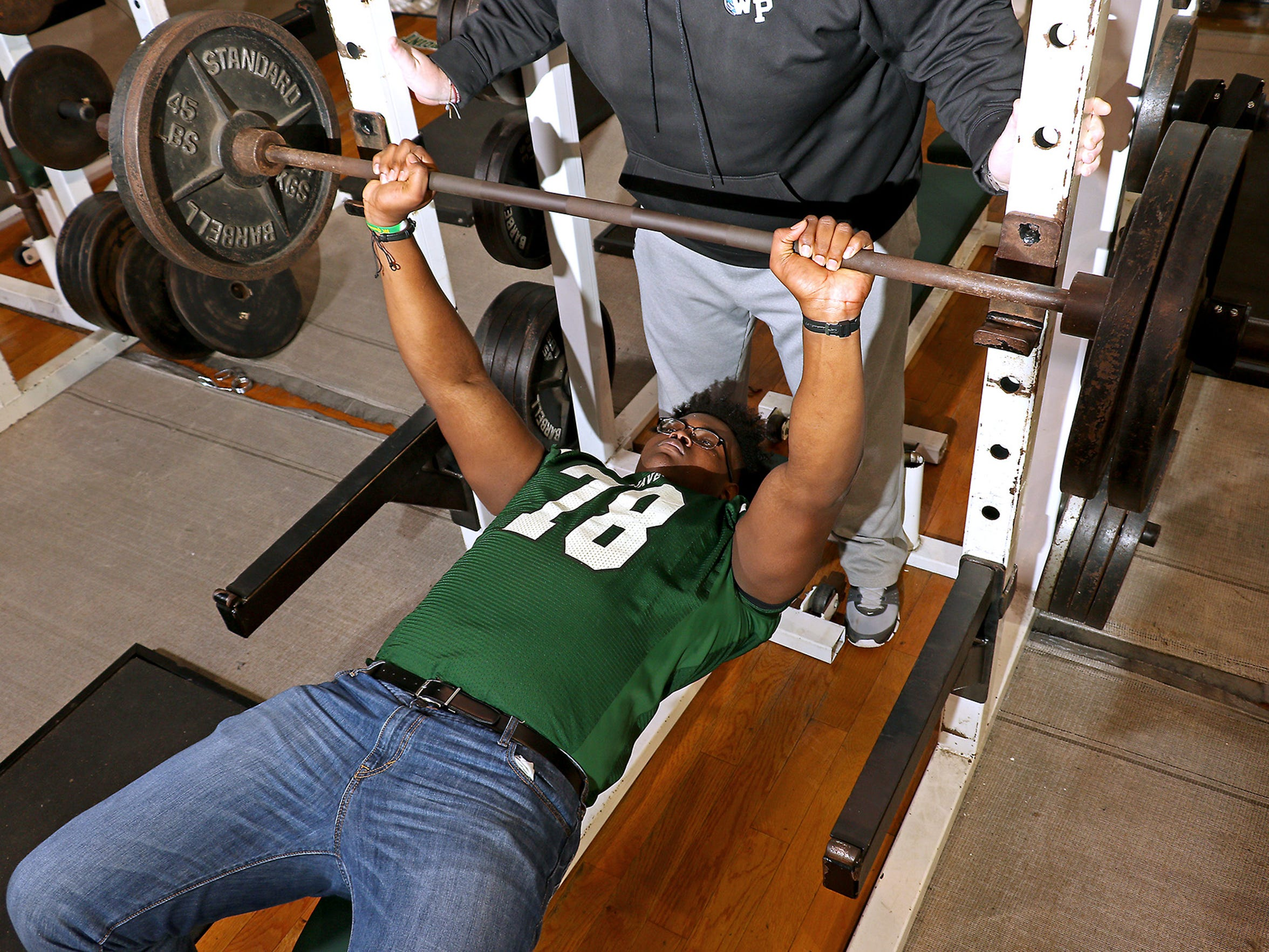 At 6-foot-7, 310 pounds, Lashley's West Point coaches
