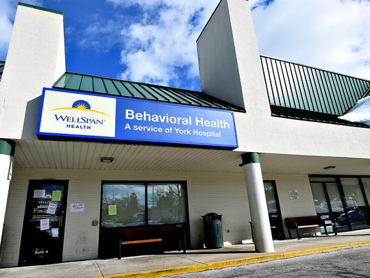The WellSpan Behavioral Health building is shown on