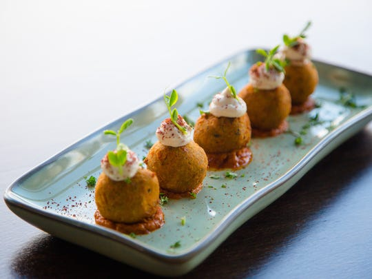Vegetarian croquetes from Lurra Cocina Wednesday, Jan.
