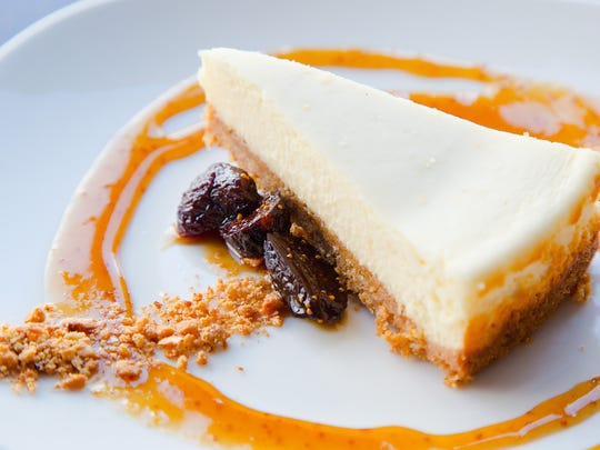 Manchebo cheese cake from Lurra Cocina Wednesday, Jan.