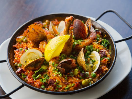 Traditional Paella from Lurra Cocina Wednesday, Jan.