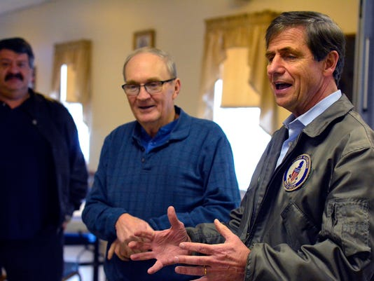 PHOTOS: Joe Sestak visits VFW Post