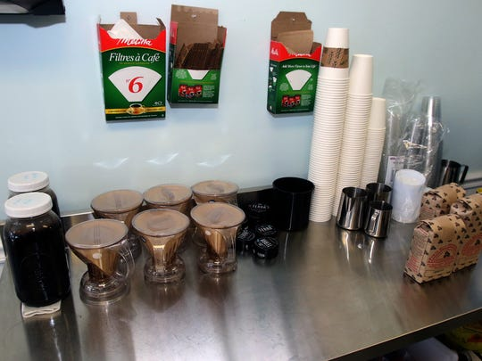 """""""You Need Coffee,"""" an independent gourmet coffee shop in Scotch Plains that just opened in early December. February 9, 2016 photo by Ed Pagliarini"""