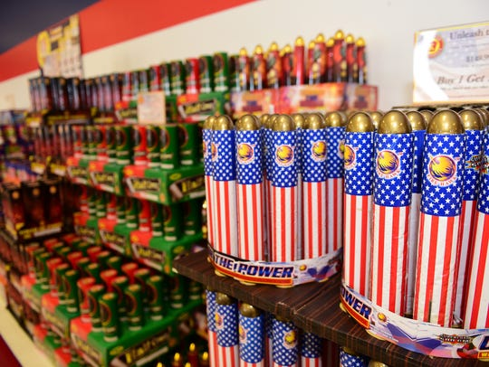 Used to be that none of the fireworks shown here could be purchased by patrons with Pennsylvania identification at Keystone Fireworks, Greencastle. A state law has changed that in time for New Year's celebrations.