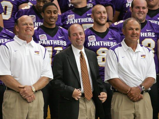 The Panthers have found the person they want to replace Troy Dannen as athletic director.