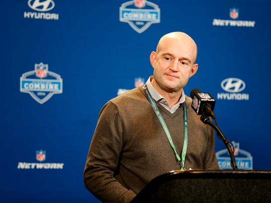 Cincinnati Bengals director of player personnel Duke Tobin was pushed to the forefront at the 2016 NFL Scouting Combine.