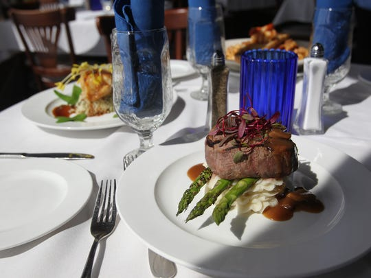 Fresh Catch Bistro offers a menu of fresh seafood and steaks along with Gulf-front views.