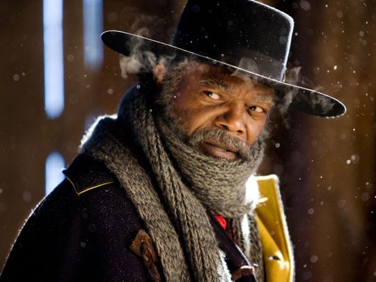 "Samuel L. Jackson is a former Union soldier turned bounty hunter in ""The Hateful Eight."""