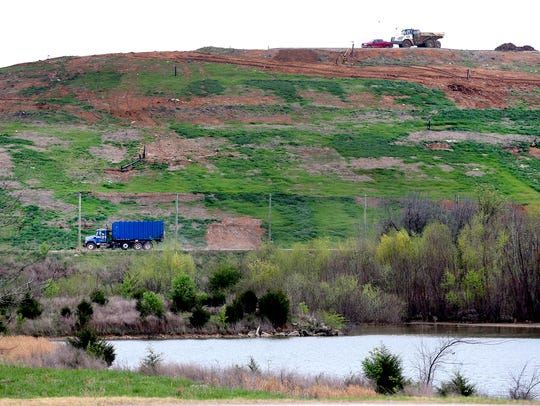 Rutherford County's Middle Point Landfill, shown here in a 2016 file photo, will likely close within the next decade. County officials are exploring options to replace it.