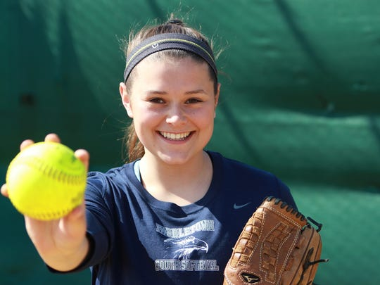 Maddie McMahon of Middletown South