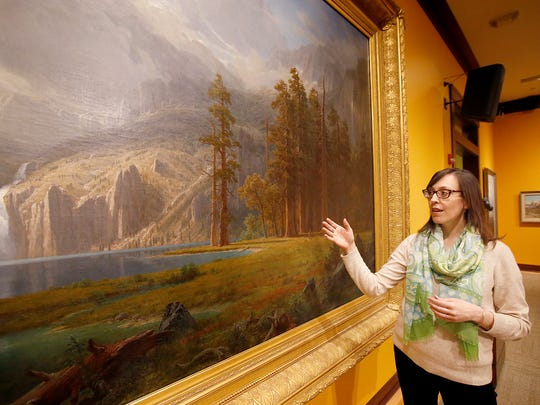 """The Rockwell Museum Curator of Collections Kirsty Harper Buchanan explains the importance of Albert Bierstadt's """"Mount Whitney"""" to the museum's collection."""