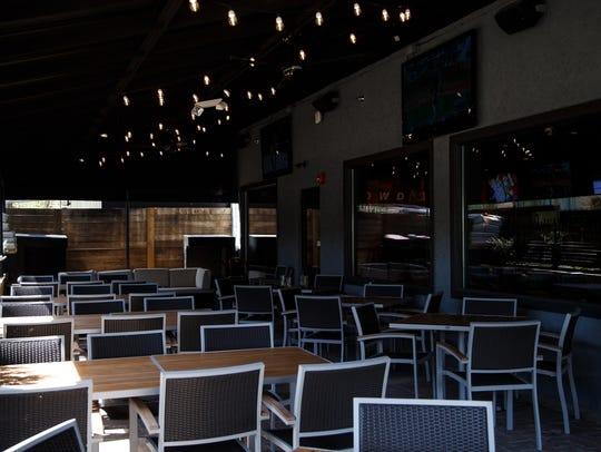 Inside of the new Gilroy's in West Des Moines.