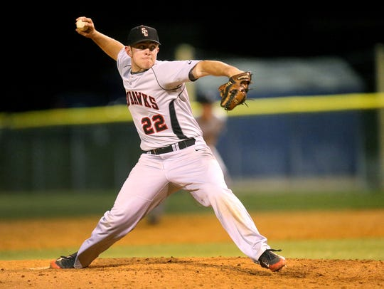 Stewarts Creek's Austin Steel was 8-2 with a save.