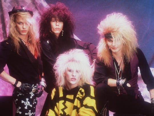 Poison in its glam-rock 80s heyday.