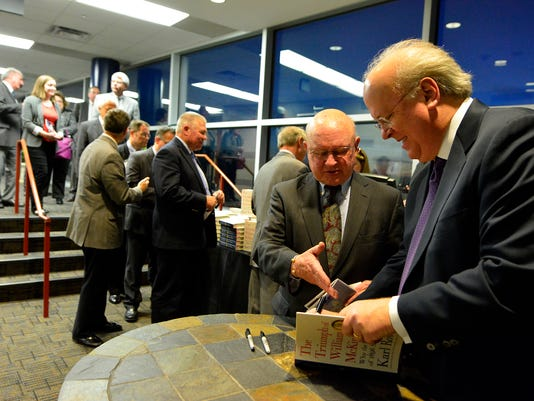 PHOTOS: Karl Rove keynote speaker