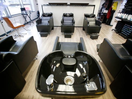 The New York Beauty & Barber Salon offers six shampooing stations and six styling stations at the 200 Baldwin St., Elmira, location.