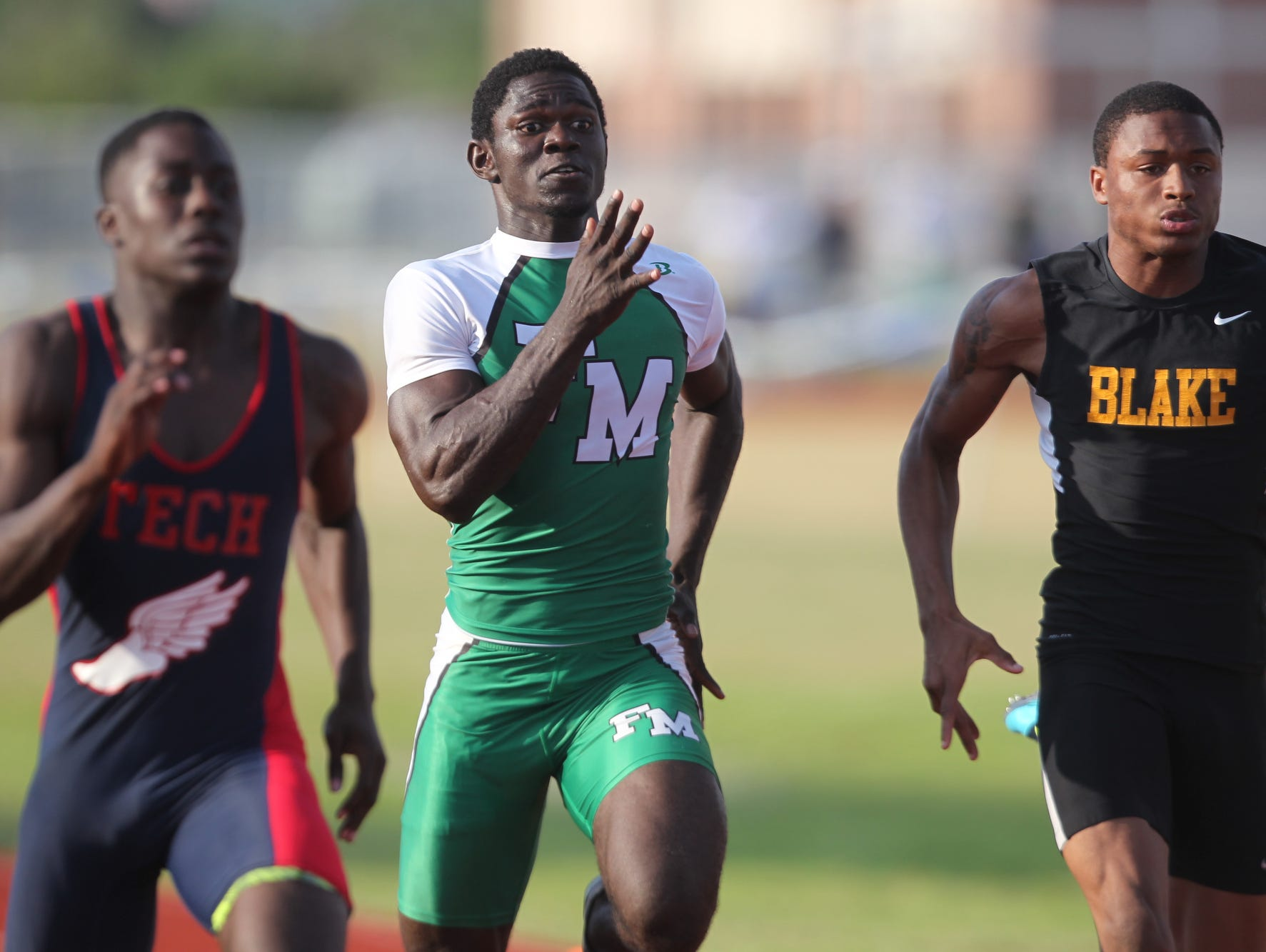 Scenes from the Region 3A-3 track meet at Charlotte High in Punta Gorda.
