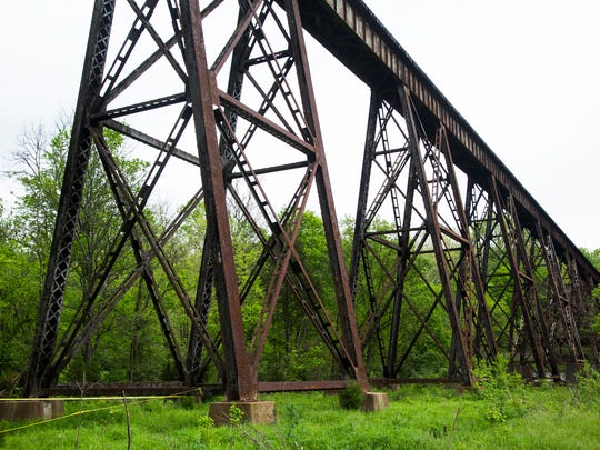 The Pope Lick train trestle was the scene of a reason death after a 26-year-old Ohio tourist was struck by a train, falling more than 80 feet to the ground below. May 2, 2016.