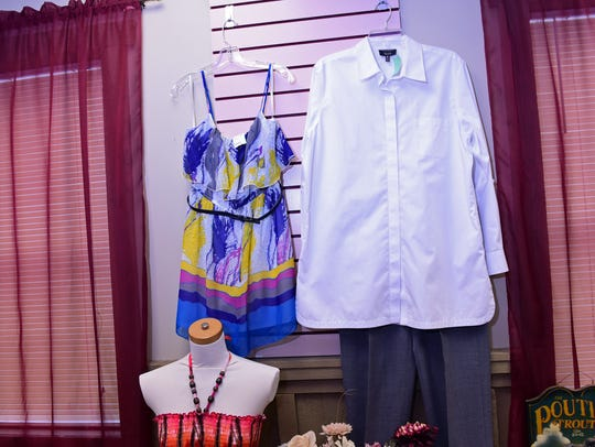 Upscale Consignment Shop is open at 27 W. Franklin