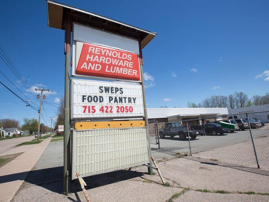 South Wood County Emergency Pantry Shelf is located