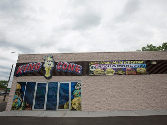 King Cone is located at 1600 Baker St. in Wisconsin Rapids.