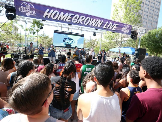 Neon Desert Music Festival will also feature 20 local