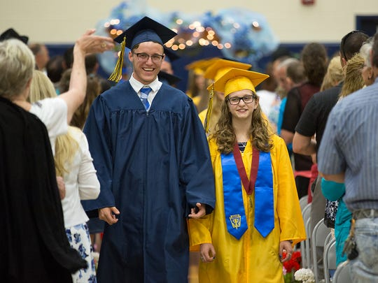 Eastern York students attended their 2016 Commencement Thursday June 2, 2016.