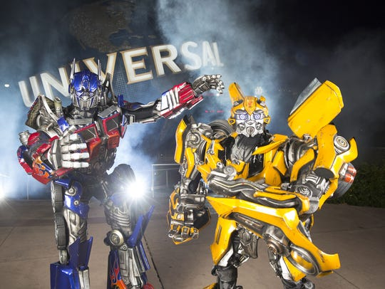 Transformers - The Ride.