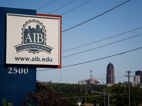 The former AIB College of Business campus at the corner of Fleur Drive and Bell Avenue has been purchased by a local developer who will turn the dorms into apartments known as The Village at Gray's Lake, and sell the remaining buildings.
