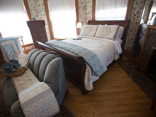The Eastern Bluebird Suite at Le Chateau Bed and Breakfast in Wisconsin Rapids, Tuesday, June 28, 2016.