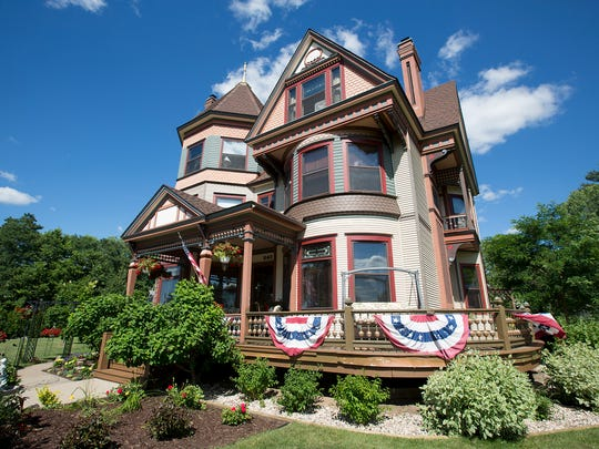 Le Chateau Bed and Breakfast located at 840 1st Street North in Wisconsin Rapids, Tuesday, June 28, 2016.
