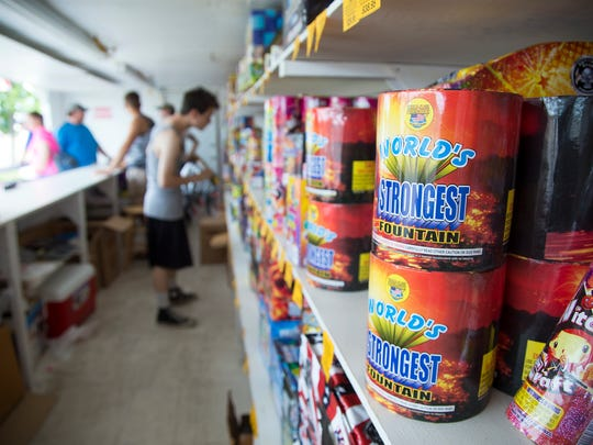 The Electric City is gearing up for the holiday weekend by stocking up on fireworks, even though many citizens are choosing to only watch the city display on July 4.