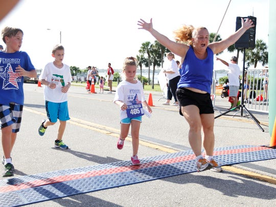 The Cape Coral Red, White & Boom celebration features a morning Freedom 5K run up and back on the Cape Coral bridge Monday.