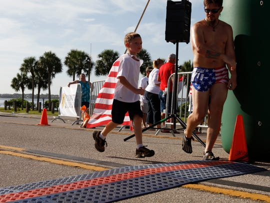 The Cape Coral Red, White & Boom celebration features
