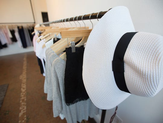 Clothes on display at Assembly in Stevens Point, Wednesday,