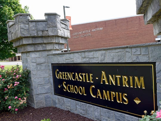 Greencastle-Antrim High School, photographed on Thursday,