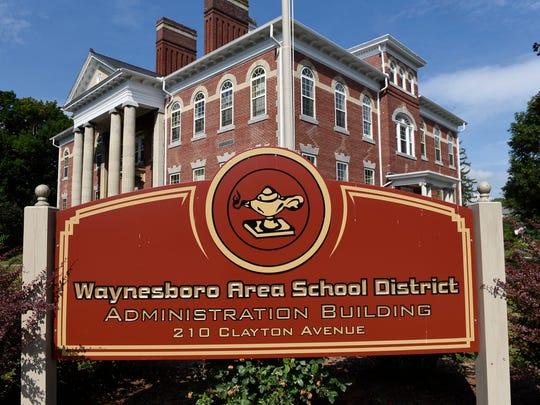 Waynesboro Area School District building, photographed on Thursday, July 7, 2016.