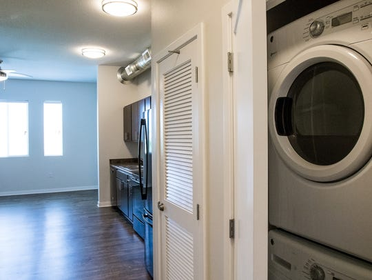 The studio apartment at Cityville on 9th has 436 square