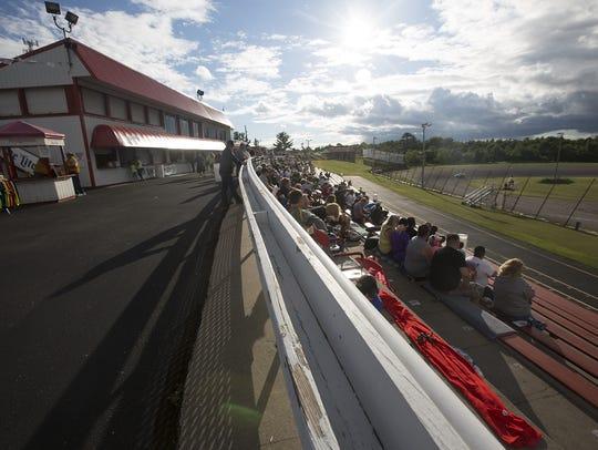 Golden Sands Speedway in Wisconsin Rapids, Friday,